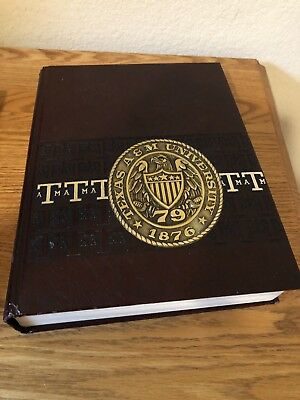 Texas A&M Aggieland College Yearbook 1979