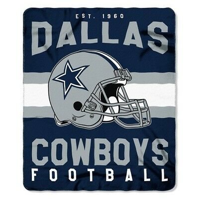 Dallas Cowboys 50 x 60 Fleece Throw Blanket~NFL~NEW