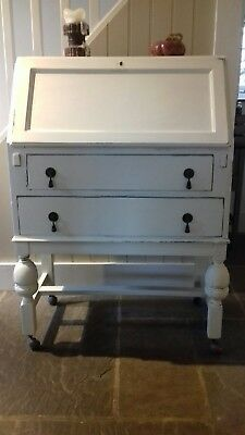 Shabby Chic Painted Writers Bureau / Desk