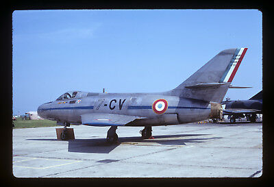 Aircraft Slide / Mystere Vi A / 59 / 7-Cv / French Af / May 73