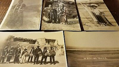 American indian postcards