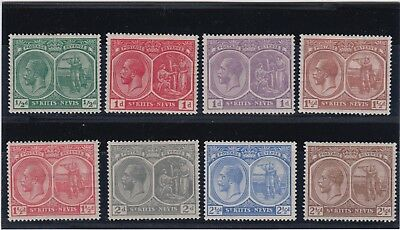 St. Kitts-Nevis:  King George V Issue Of 1921-29