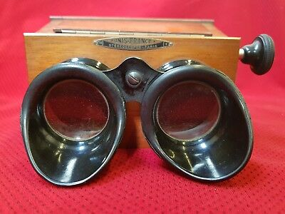 STEREOSCOPE Unis-France - 4,5 x 10,7 cm - STEREOVIEWER STEREO VIEWER