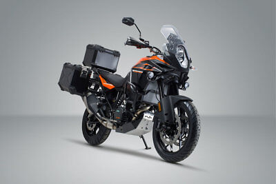 SW Motech Trax ADV Panniers & Top Box Kit - Black - KTM 1290 Super Adventure