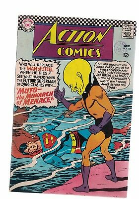 DC Comics Action comics no 338 June 1966 12c USA