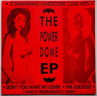 """12"""" Nl**f. Salee - The Powerdome Ep (Rave Records '92)**30101"""