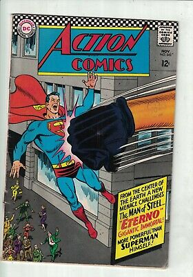 DC Comics Action comics no 344 November 1966 12c USA