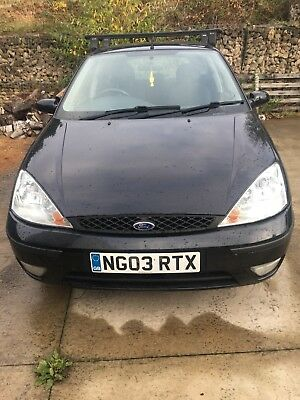 Ford Focus 03 plate 1.6