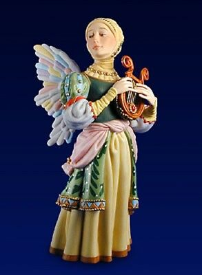 Porcelain Figurine James C Christensen - The Gift Of Music with original box
