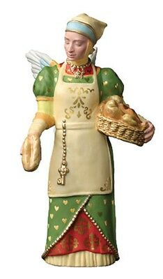 Porcelain Figurine James C Christensen - The Gift Of  Charity with original box