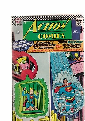 DC Comics Action comics no 339 July 1966 12c USA