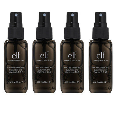 e.l.f. Makeup Mist and Set Clear - Pack of 4