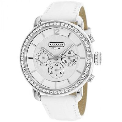 eba3fa6887c6d COACH LADIES LEGACY Sport 36mm Silver Stainless Steel Gold Plate ...