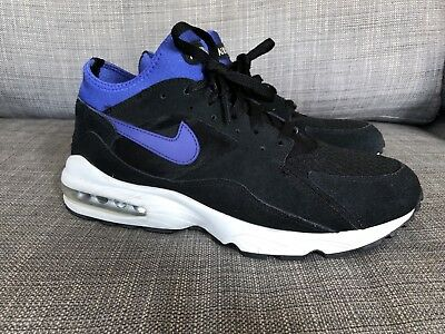 new arrival 891db 36d87 NIKE Air Max 93 Black Persian Violet Size 11 Mens 306551-015 RARE