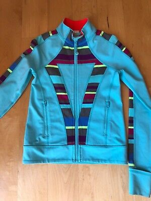 Ivivva sport jacket sz 8 EEUC. washed in cold