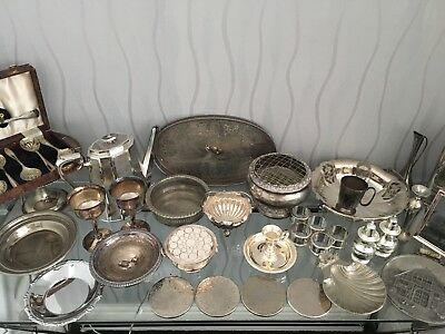 Silver Plated Job Lot