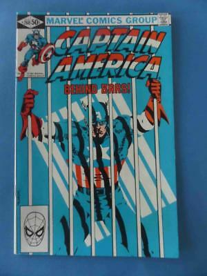 Captain America 260 1981 High Grade! Nm