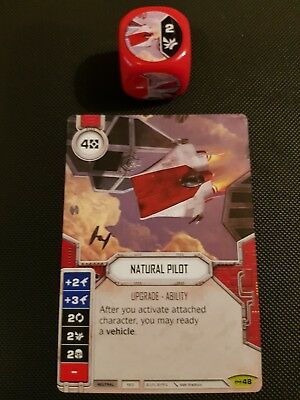 Star Wars Destiny #48 Natural Pilot - Empire at War