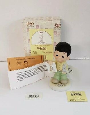 "Precious Moments MIB ""Mr. Fujioka"" Fig RETIRED 781851 Limited Edition 2000 New"