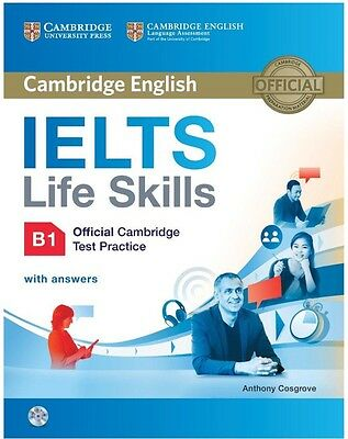 IELTS Life Skills Official Cambridge Test Practice B1 Student's Book +DVD+Answer