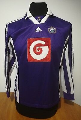Maglia maillot Trikot Anderlecht 98/99 calcio vintage football Adidas size S