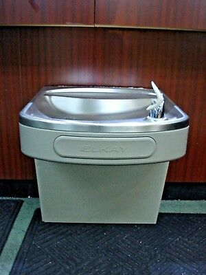 Elkay EZFS8-1F Wall Mount Drinking Fountain Water Cooler - Powers Up -Clean