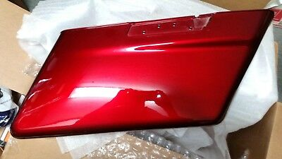 Harley MYST/Velvet Red Sunglo RH Saddlebag Bottom 90201064EAD  NEW!!!