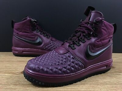 pretty nice b6504 bd3f3 Nike Lunar Force 1 Duckboot  17 Men s Boots Sz 9 Bordeaux 916682-601  Burgundy