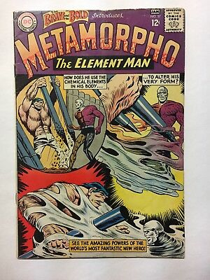 THE BRAVE AND THE BOLD #57 DC COMICS 1st METAMORPHO