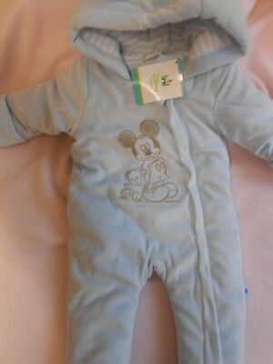 Disney baby coat boys Mickey Mouse - 0-3 months BRAND NEW!