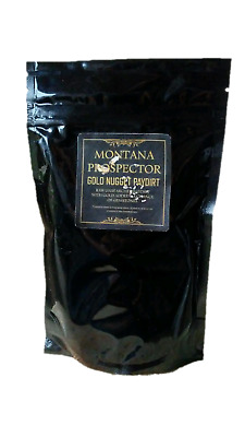 Montana Gold Nugget Paydirt Rich %100 Unsearched Pay Dirt 1/4 Gram Minimum
