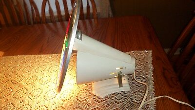 Vintage Rotating 4 Color Wheel for Lighting Up Aluminum Christmas Tree Works