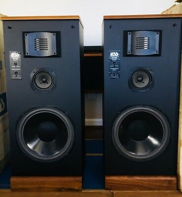 RARE Vintage ESS  PS1220 speakers Performance Series Heil Air-motion W/ Boxes