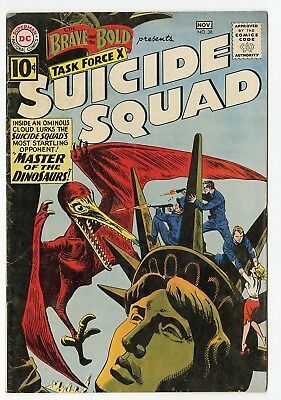 Brave & Bold #38 FN+ 6.5 ow/white pages  Suicide Squad  DC  1961  No Reserve
