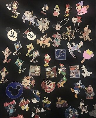 Disney  Trading Pins-Lot Of 25-No Duplicates-Le-Hm-Rack-Cast- Free Shipping
