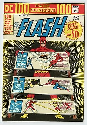 DC 100 Page Super Spectacular #22 VF/NM 9.0 white pages  Flash  1973  No Resv