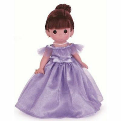 "Precious Moments Prettiest One Of All Brunette 12"" Vinyl Doll By Linda Rick 4762"