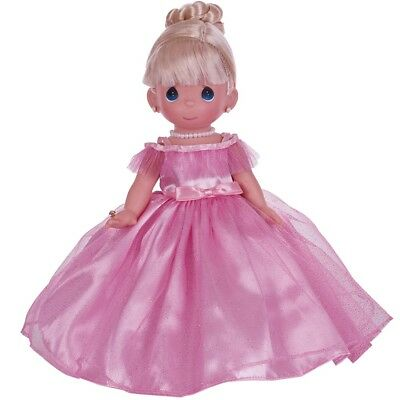 "Precious Moments Prettiest One Of All Blonde 12"" Vinyl Doll By Linda Rick 4761"