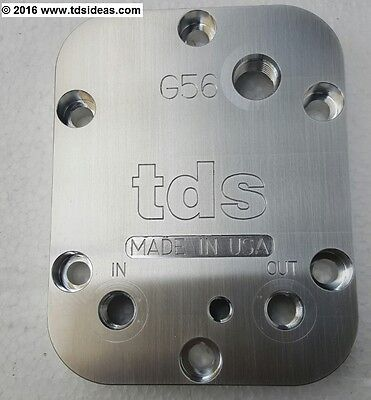 TDS - PTO Cooler Cover, Dodge G56 Xmission, Corrects fluid level, 1/8 NPT, USA