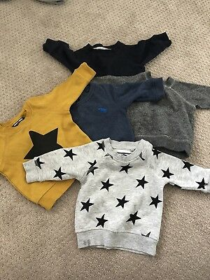 5 x Baby Jumpers 00 (3-6 Mths)