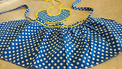 Mattel Mrs. Beasley Apron And Collar Original Clothes Outfit
