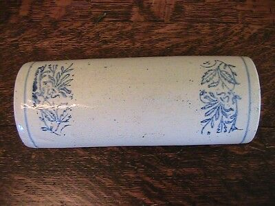 ANTIQUE / VINTAGE STONEWARE ROLLING PIN - Early 1900's