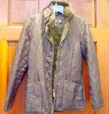 Barbour Quilted coat. Brown jacket. US Size 4. UK Size 8.