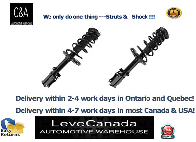 2004-06Toyota - Camry  (2) REAR Complete Struts & Coil Springs Excl.  SE
