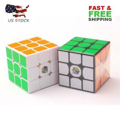 YuXin Little magic 3x3x3 Speed Contest Magic Cube Twist Puzzle Toys Gift Hot US