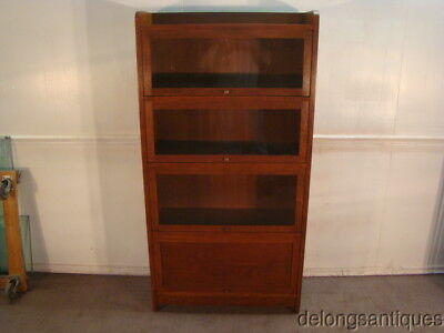 51286:Stickley Barrister Style Solid Cherry Bookcase
