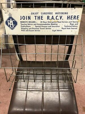 Vintage RACV Workshop Brochure Rack Maps Service Publication