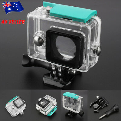 Waterproof Dive Housing Case Underwater Cover For xiaomi yi Action Camera Kit AU