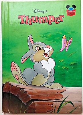 "DISNEY'S WONDERFUL WORLD OF READING ""THUMPER"" (2003) Scholastic Books"