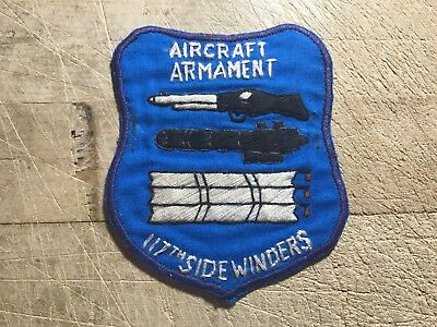 1960s/Vietnam? US ARMY PATCH 117th Aviation Company Sidewinders-ORIGINAL